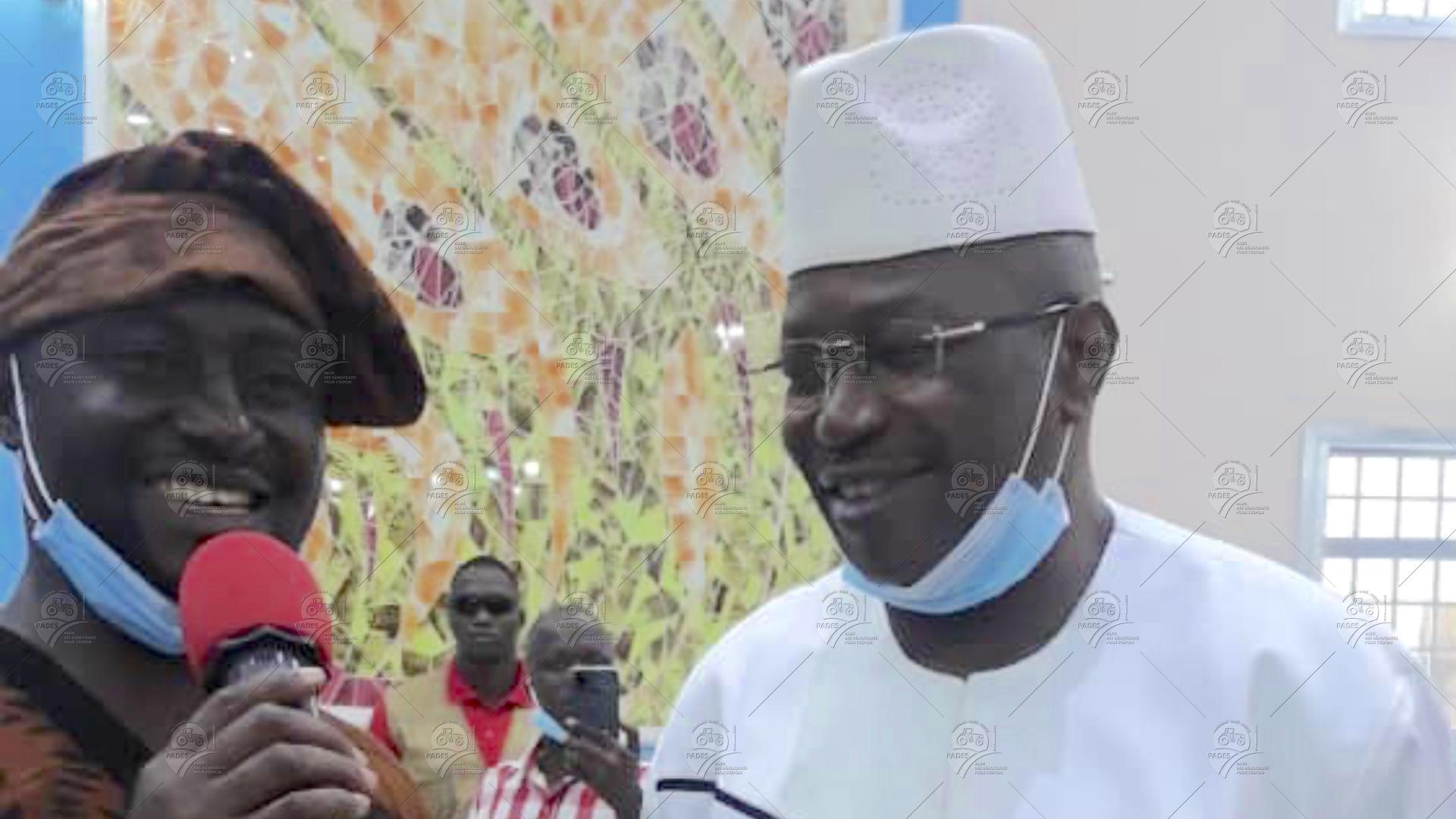 Docteur Ousmane KABA au Lancement d'un cursus en langue N'ko à l'Université Kofi ANAN